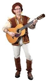 Troubadour Theo voor feesten en partijen