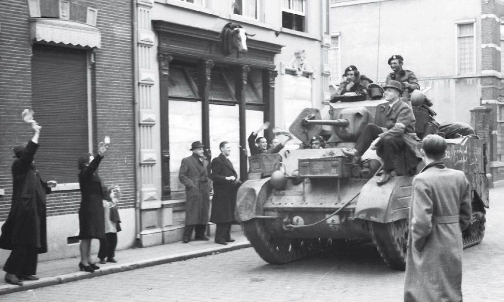 Engelse bevrijders in Oosterhout